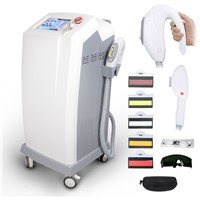 Professional E-Light IPL Permanent Hair Removal Shr Machine Acne Freckles Remove