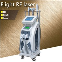 SHR/Elight RF ND YAG Laser Multifunctional Beauty Machine with Two Touch