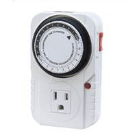 UK, US, EU Mechanical 24 Hours Heavy Duty Timer