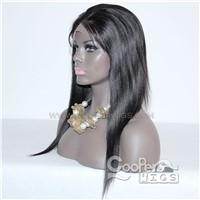 Cooper Wigs Lace Front Human Hair Wigs for Women Black Color Brazilian