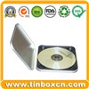 CD Tin Case, Metal CD Tin Box, CD/DVD Holder