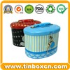 Metal Tin Coin Bank with Lock, Metal Money Box, Tin Saving Box (BR1906)