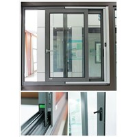 Aluminum Sliding Windows Double Glazing Aluminium Sliding Window