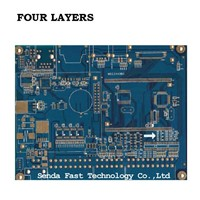 Four Layers PCB Customization, PCB Prototype Fabrication, Reliable Quality Printed Circuit Board, PCBA, PCB Assembly