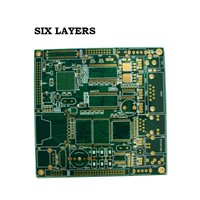 Six Layers PCB Customization, PCB Prototype, PCB Assembly, PCB Fast Service, PCB OEM Service, PCBA