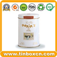 Round Tin Can, Tin Box, Food Tin Packaging, Food Tin Box (BR1245)