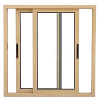 Guangzhou New Design Powder Coated Aluminium Glass Sliding Windows