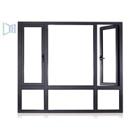 Aluminum Composite Wood Casement Windows / Aluminum Clad Wood Window, Aluminum Wood Window