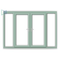 China Made Aluminum French Casement Window with Cheap Price