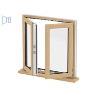 Wholesale Casement Gray Aluminum Commercial Windows & Door