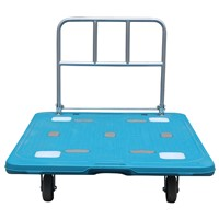600 Kgs Heavy Duty Folding Portable Plastic Platform Trolley