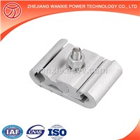 Wanxie Hot Sell C Type Metal Clamp Wire Connection Clip over Head Insulated Wire Clamp