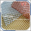 Luster Metallic Coil Drapery Mesh Curtain
