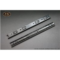 Cold-Rolled Steel Material Full Extension Ball Bearing Drawer Slide