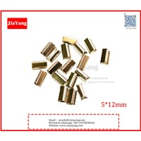 Decorative 10*12mm Metal Crimp for Rope /Lace