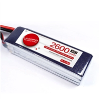 Model Aircraft Lithium Battery UAV Aircraft 2600mAh 45C through the Battery
