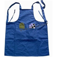 Kids Blue Kitch Chef Cotton Twill Apron
