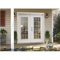 Professional Aluminium Casement Door with American Standard