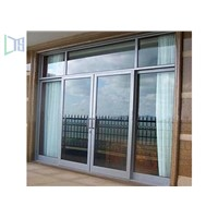 Fireproof Long Time Bulletproof Strong Aluminium Casement Doors for Home, Hotel, Office Construction Building