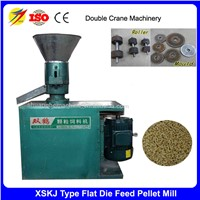 Double Crane Flat Die Feed Pellet Mill Poultry Pellet Feed Making Machine for Same