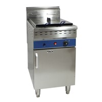 Electric Fryer with Cabinet 48 Liter 1 Tank 2 Basket Electric Fryer FMX-WE183