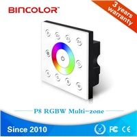 Multizone Rgbw Touch Panel Dmx Touch Dimming Controller