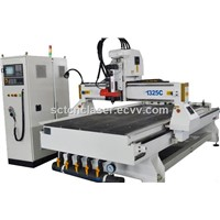 3D Wood CNC Router 1325 3 Axis 3KW Spindle Support Type3 Software & T-Slot Table CNC Woodworking Carving Machine