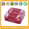 Tin Box, Tin Can, Square Tin Box (BR331)