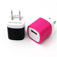 5.0V 1000mA USB Travel Adapter Charger USB Wall Mount Adapter