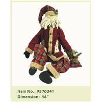 Christmas Stuffed Snowman Saint Gift House Decoration Doll
