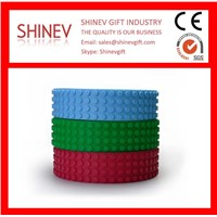 50/100/200cm Non-Toxic Soft Silicone Blocks Tape