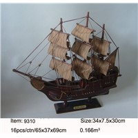 Gifts & Decor MAYFLOWER Nautical Wooden Model Ship Handcrafts Sailing Model Boa