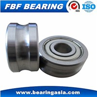 High Precision Metal Guide Track 608 Bearings Deep V Groove Pulley Rail Ball Bearing