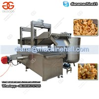 Gas Heating Continuous Chips Frying Machine|Chips Fryer Machine