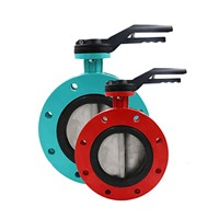 Manual Pneumatic Motorized Flanged Butterfly Valve