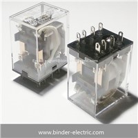 Electric Miniaturrelais Relay 250VAC 5A 4W BRMY2 without Test Button