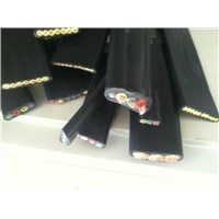 Ngflgou Flat Rubber Cable