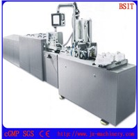 ZS-I Suppository Filling & Sealing Production Line Adpots ALU/ALU Foil