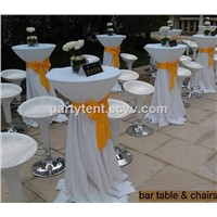 Bar Cocktail Table for Party Tent