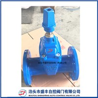 DIN3352 F4 Ductile Iron PN16 GGG50 Reselient Seated Water Sluice Square Nut DN50 Gate Valve