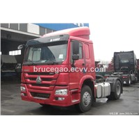Popular SINOTRUK HOWO 4X2 290HP HIGH ROOF Tractor Truck
