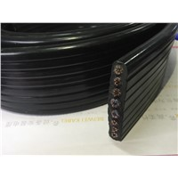 Crane Cable with Supporting Steel Wire/Flat Cable