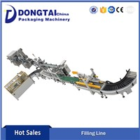 Automatic Oil Filling Capping Labeling Line