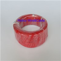 22 AWG FEP Insulated Hook-up Electrical Wire Red Color Teflon Wire