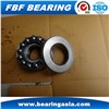 Small Axial Bearing F3-8M 3x8x3.5 Mm Thrust Ball Bearing ( with Stainless Steel Cage / Brass Cage )