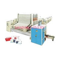 High Speed Automatic Edge Embossing Rewinding Machine