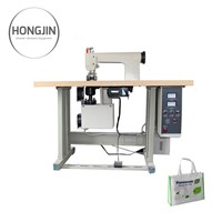 Ultrasonic Non-Woven Nonwoven Fabric Bag Sewing Sealing Making Machinery Equipment