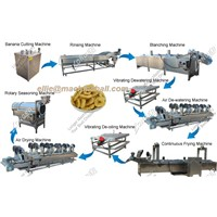 Automatic Banana Chips Production Line for Sale|Plantain Chips Production Line