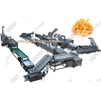Automatic Frozen French Fries Production Line|French Fries Machine