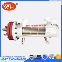 High Quality Evaporator Heat Exchanger Beer Cooling Condenser Evaporator with Ss Tube Industrial Chiller for Plating
